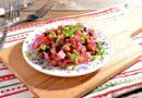 Винегрет с квашеной капустой — 10 классических рецептов