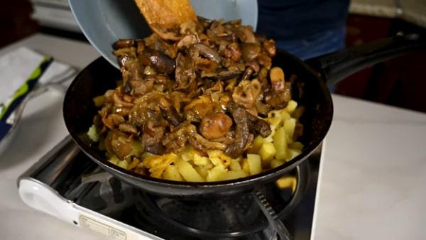 Блюда Из Свежих Опят С Картошкой: 7 Рецептов